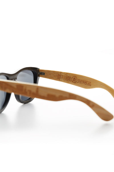 Wooden Cleveland Skyline Sunglasses