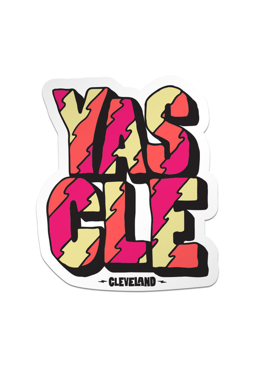 YAS CLE - Sticker - CLE Clothing Co.