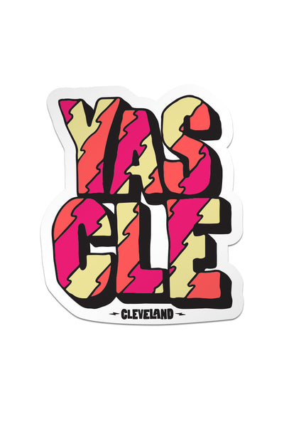 YAS CLE - Sticker