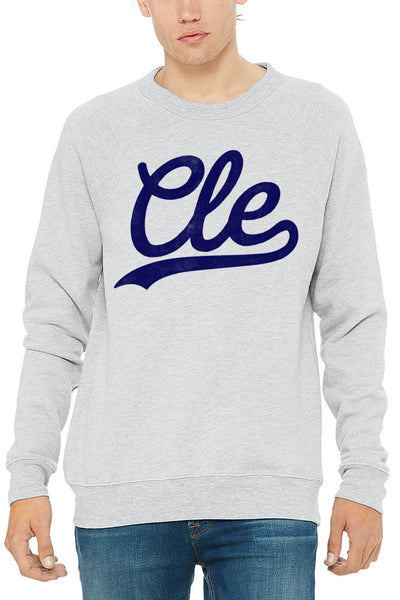 CLE Script - Unisex Fleece Crewneck Sweatshirt - CLE Clothing Co.