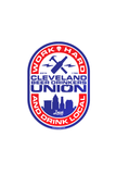 Beer Drinkers Union - Sticker - CLE Clothing Co.
