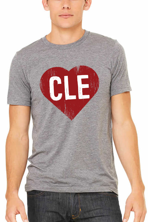 CLE Heart - Unisex Crew - CLE Clothing Co.