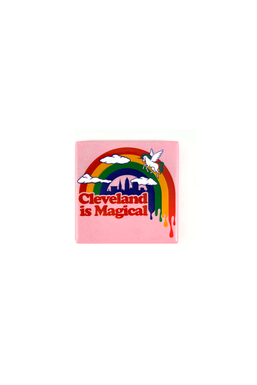 Cleveland Is Magical - Fridge Magnet - CLE Clothing Co.