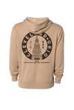 CLE, USA - Terminal Tower - Unisex Pullover Hoodie - CLE Clothing Co.