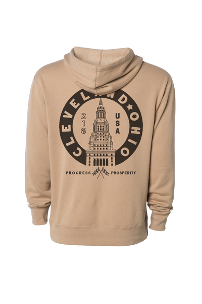 CLE, USA - Terminal Tower - Unisex Pullover Hoodie
