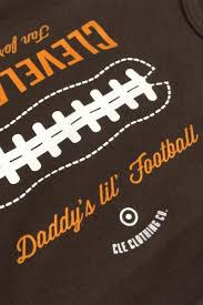 Daddy's Lil' Football - Onesie - CLE Clothing Co.