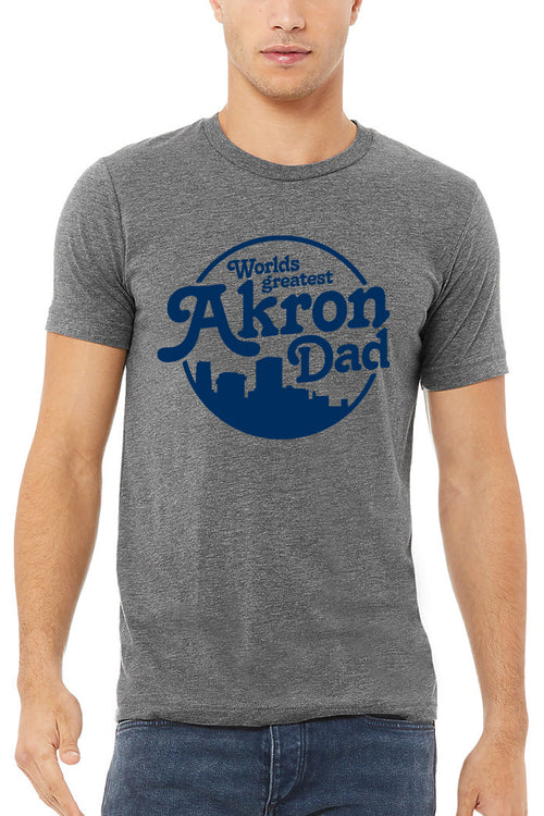 Worlds Greatest AKRON Dad - Unisex Crew