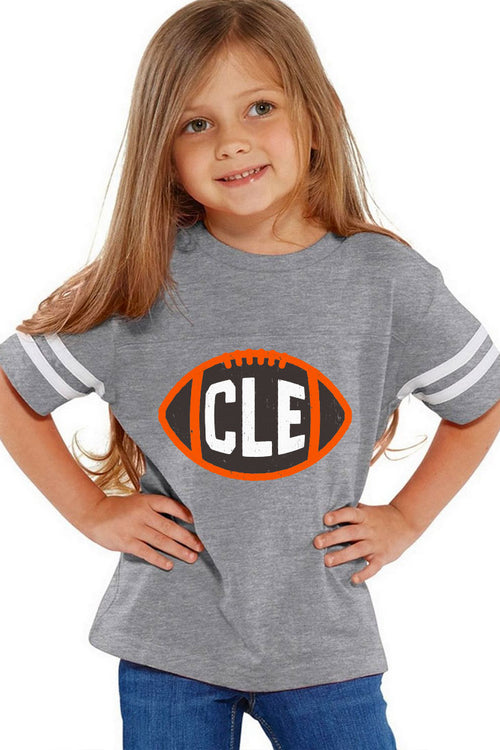CLE Football - Kids Crew - CLE Clothing Co.