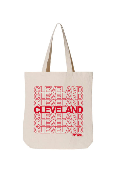 Cleveland Repeat - I love you Tote