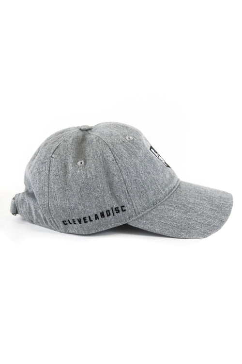 4f71d2eb853 Cleveland Soccer Club Logo - Dad Hat - Grey