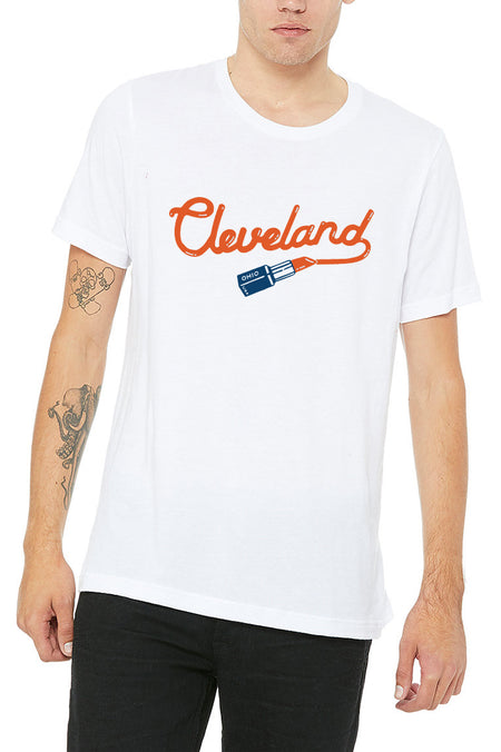 CLE College Navy/Red - Unisex Tank