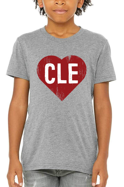 CLE Heart - Youth Crew - CLE Clothing Co.
