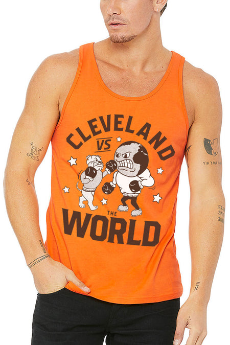 Vacation in Cleveland Unisex Tank