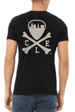 CLE Logo - Unisex Crew - Heather Black