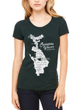 CVNP Map - Womens Crew - CLE Clothing Co.