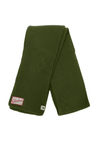 CLE Clothing Waffle Knit Scarf - Surplus Green - CLE Clothing Co.