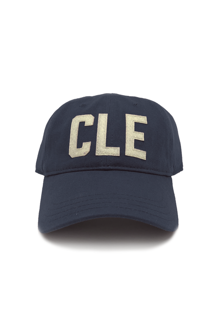 CLE Logo - Navy/Red - Womens Crew