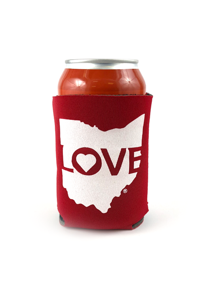 Ohio Love Can Cooler - CLE Clothing Co.