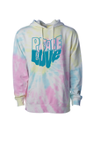 Ohio Peace and Love Tie Dye - Unisex Pullover Hoodie