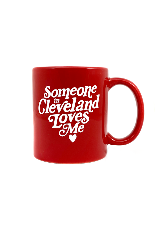 Someone In Cleveland Loves Me Coffee Mug
