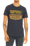 Sugardale - Baseball and Hot Dogs - Unisex Crew