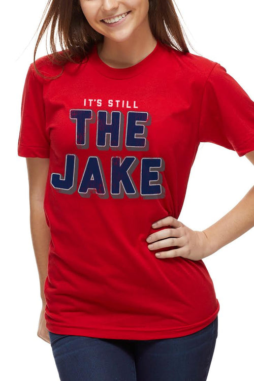It's Still The Jake - Unisex Crew - RED - CLE Clothing Co.