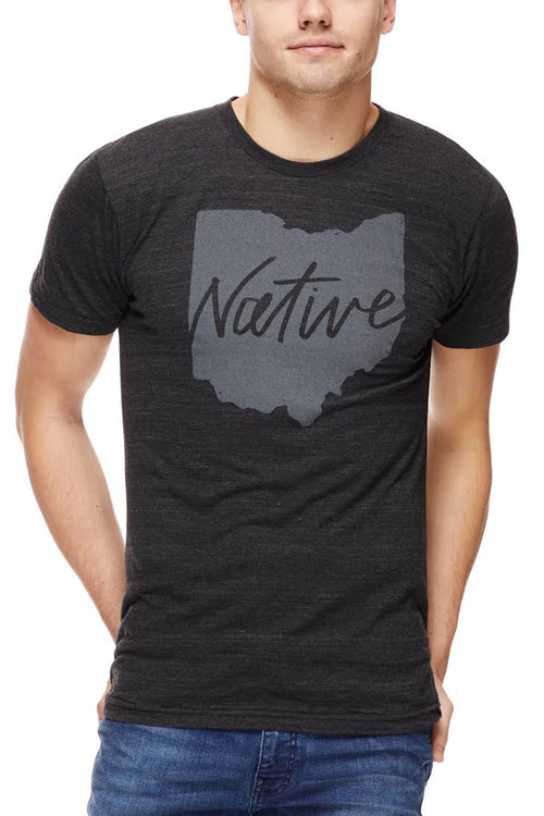 Native Ohioan - Unisex Crew - Black - CLE Clothing Co.