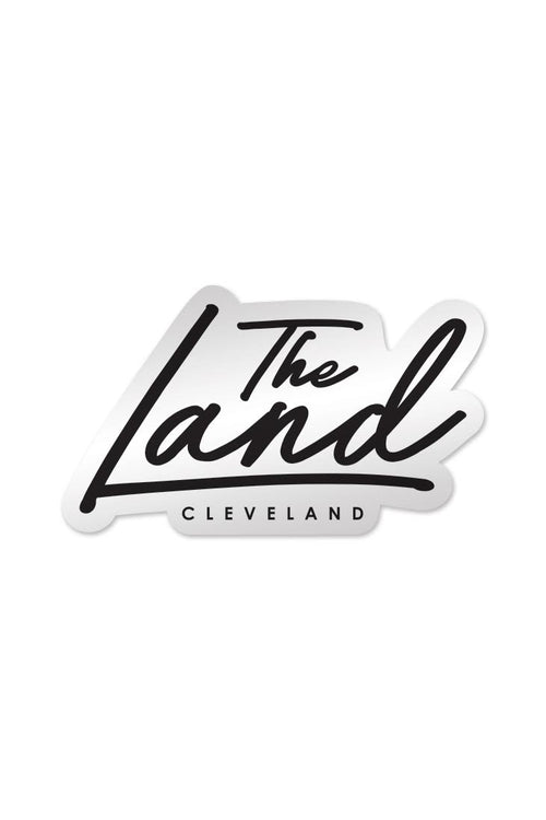 The Land Script - Sticker