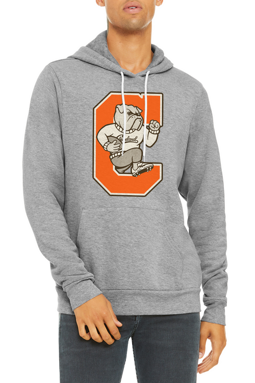 Cleveland Dawg - Unisex Pullover Hoodie - Grey