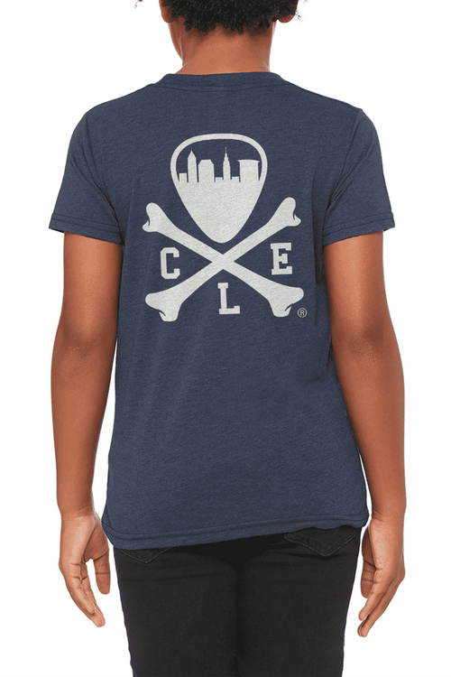 CLE Logo - Youth Crew - Heather Navy