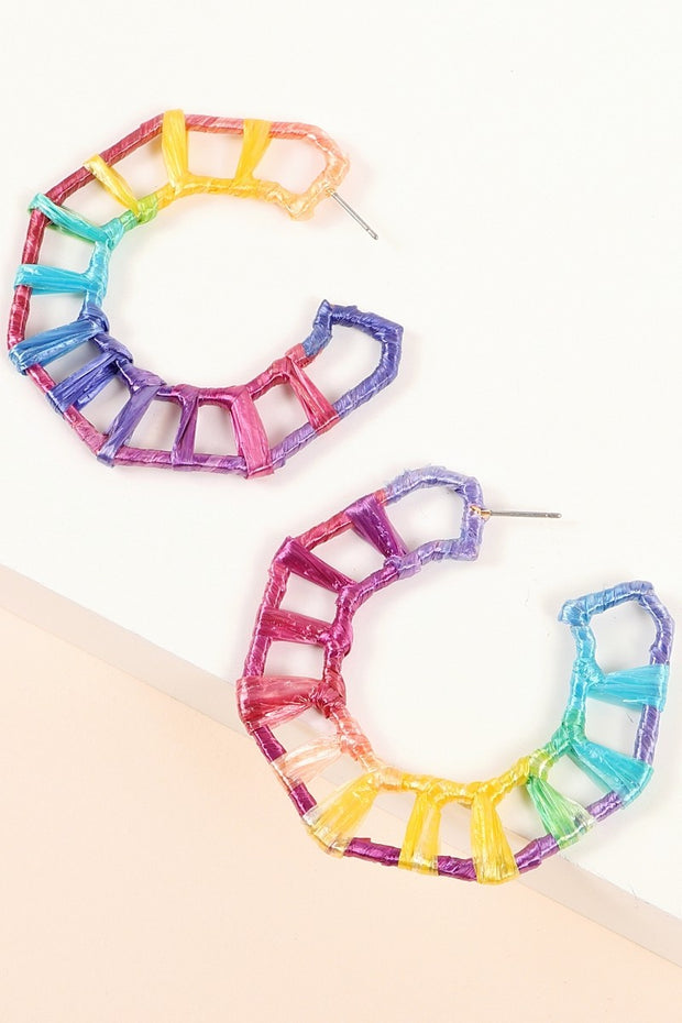 Rainbow Burst Earrings