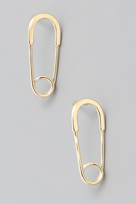 Safety Pin Stud