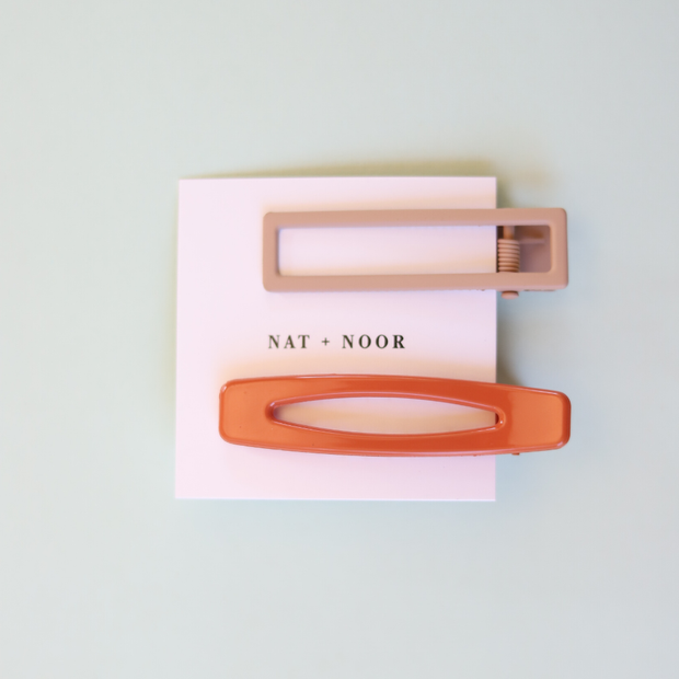 Nat + Noor Barette Orange