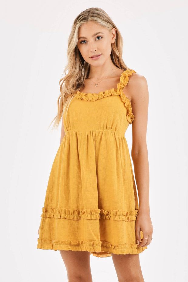 Melody Ruffle Dress