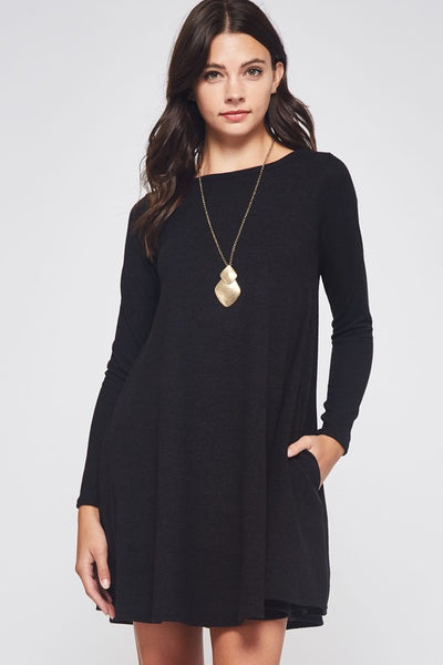 Chester Sweater Swing Dress