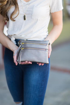 Necessities Clutch - Imagine Boutique