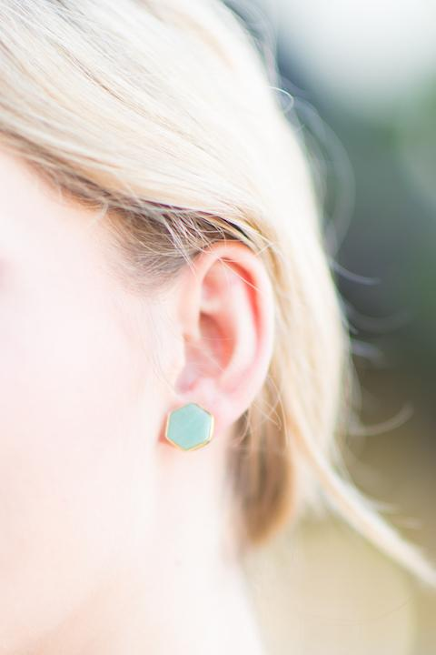 Stone Earrings - Imagine Boutique