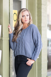 small town girl sweater - Imagine Boutique
