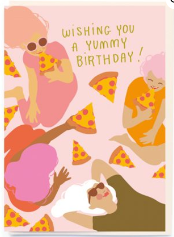 Wishing You a Yummy Birthday!