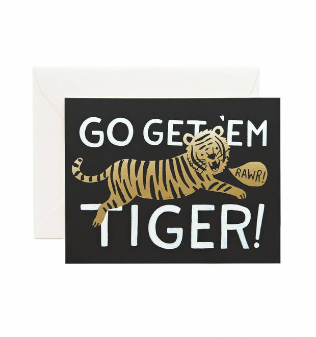 Go Get 'Em Tiger Card - Imagine Boutique