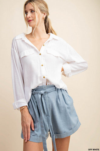 Summer Breeze Button Down