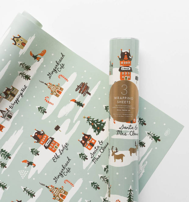 Rifle Paper Co. Wrapping Paper Roll - Imagine Boutique