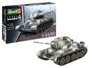 Revell T-34/85 1:35 Tank Model Building Kit