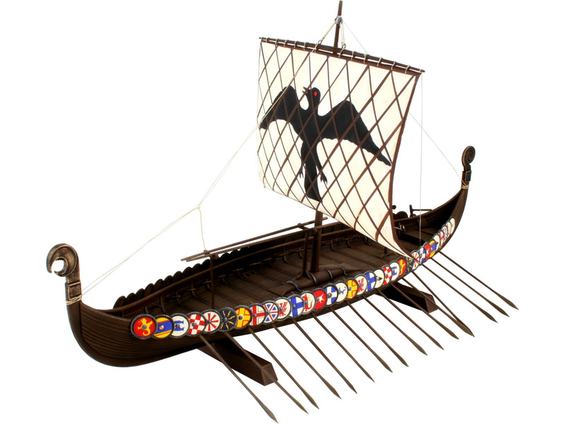 Revell Viking Ship Model Set 1:50 Warship Model Building Kit Alternate 1