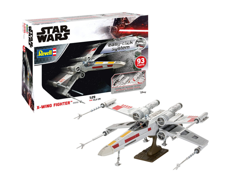 Revell Star Wars X-Wing Fighter Easy Click 1:29 Scale Model Kit