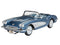 1:25 58' Corvette Roadster Revell Model Car Set Including Glue Paint & Brush
