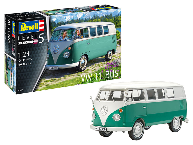 Revell Volkswagen T1 Bus 1:24 Bus Model Building Kit