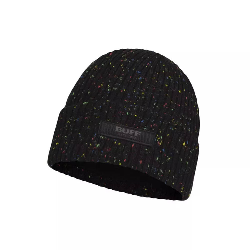 BUFF Knitted and Fleece Band Hat Olympian Kid's Beanie Black