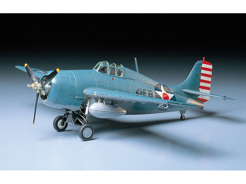 Tamiya Grumman F4F-4 Wildcat 1:48 Scale Airplane Model Kit