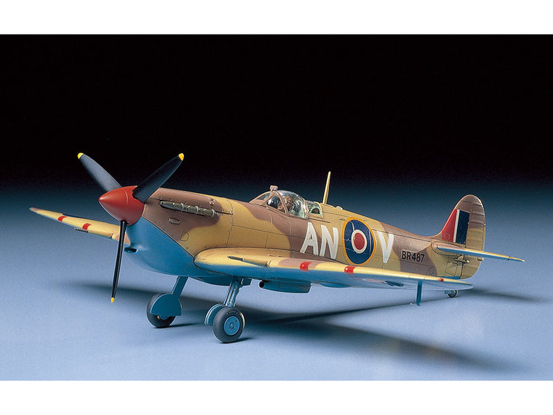 Tamiya Super Marine Spitfire Mk.Vb TROP 1:48 Scale Airplane Model Kit